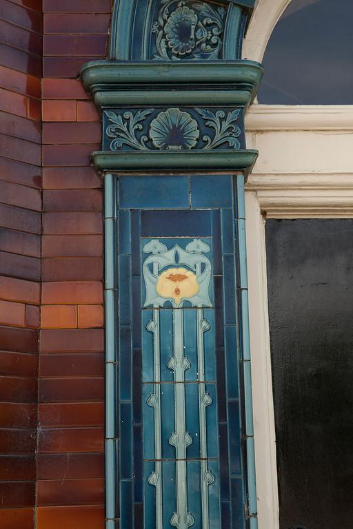 Beautiful Door Detail at the Stork Hotel.
