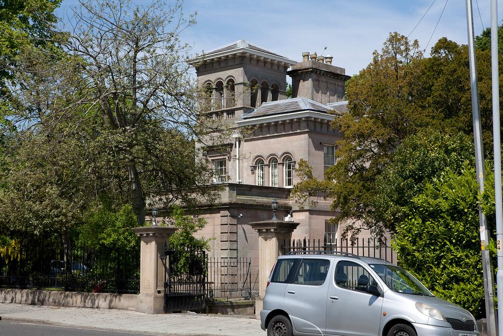 Italian villa, Birkenhead Park.