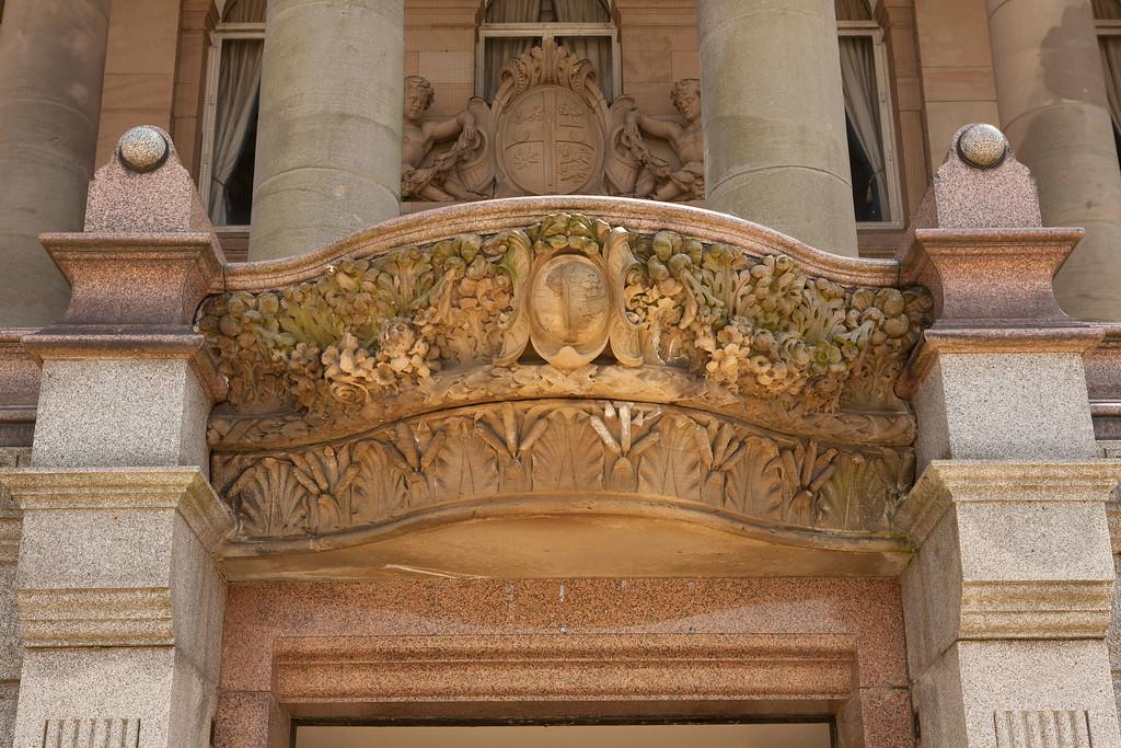 Door Detail, Birkenhead Town Hall