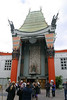 This is the front of Grauman's Chinese Theater, on Hollywood Boulevard