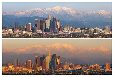 Los Angeles Skyline 2011.01.04