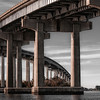 The I210 bridge in Lake Charles, LA
