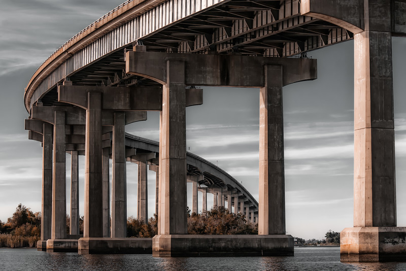 Israell LaFleur bridge,  Lake Charles,  LA