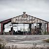 Remnants of the local machine shop in Cameron, Louisiana, thanks to hurricane Rita.