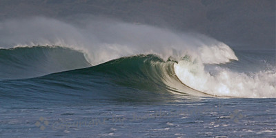 Dancing Waves ~ The beauty of high surf at Morro Bay, California, in December 2012.