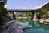 Bourazani (Epirus, near Konitsa) - Old military bridge on Aoos river<br />  Μπουραζάνι, Κόνιτσα (Ήπειρος) - Παλιά στρατιωτική γέφυρα στον ποταμό Αώο