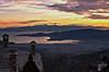 Volos (Thessaly) - View from Makrinitsa just after sunset <br />  Βόλος - Άποψη από Μακρυνίτσα μετά το ηλιοβασίλεμα
