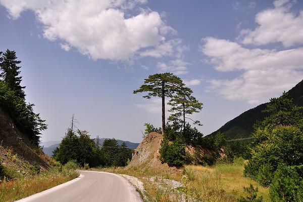 Valia Calda (Macedonia, near Grevena) - National Park of Central Pindos's mountain. Means Hot Valley<br />  Βάλια Κάλντα (Ήπειρος) - Εθνικός Δρυμός Πίνδου. Ιδρύθηκε με το Β.Δ. 487/1966 που δημοσιεύθηκε στο 120/1966 φύλλο της εφημερίδας της Κυβέρνησης.<br /> Αποτελεί μια απομονωμένη περιοχή στο Βόρειο τμήμα της Πίνδου. Έχει συνολική έκταση 68.990 στρέμματα και αποτελείται από τον πυρήνα με έκταση 33.490 στρ. και την περιφερειακή ζώνη προστασίας με έκταση 35.500 στρ. Περιλαμβάνει την κοιλάδα της Βάλια - Κάλντα (είναι βλάχικη λέξη και σημαίνει «Ζεστή κοιλάδα».Ονομάζεται έτσι γιατί εμφανίζει σημαντικές θερμοκρασιακές διακυμάνσεις στη διάρκεια του 24ώρου, με πολύ υψηλές θερμοκρασίες κατά την διάρκεια της ημέρας χωρίς νέφωση και πολύ χαμηλές κατά τη διάρκεια της νύχτας), του Αρκουδορέματος, τα βουνά Λύγκος και Μαυροβούνι(Φλέγκα 2.159μ) μέχρι τις κορυφές του βουνού Αυγό(Υψ.2.177μ).