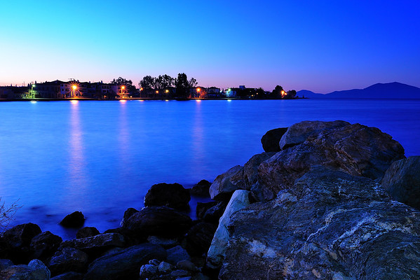 Agria (Thessaly, near Volos) - Just before sunrise<br />  Αγριά (Βόλος) - Πριν την ανατολή