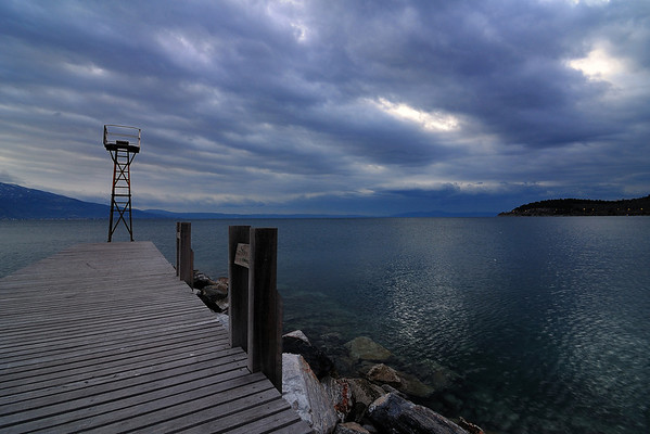 Alikes (Thessaly, near Volos) - Cloudy morning by the sea<br />  Αλυκές (Βόλος) - Συννεφιασμένο πρωινό δίπλα στη θάλασσα