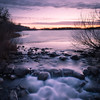 Early spring sunrise at the Dunton Locks