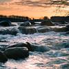 Early morning at the Dunton Locks county park outside Detroit Lakes MN