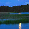 """July Full Moon""<br /> Coffin Creek<br /> St. Helena Island, SC"