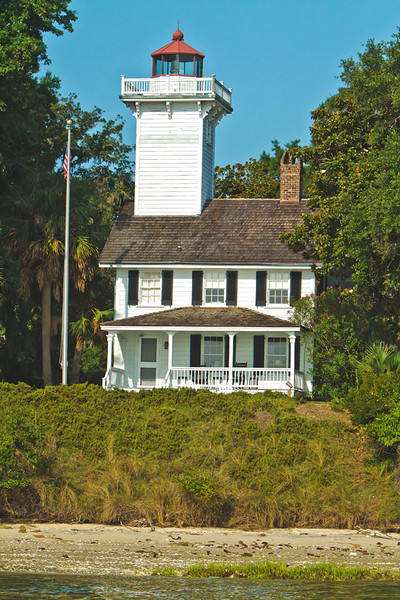 Lighthouse<br /> Dafuskie Island, SC