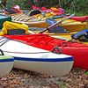"""Colorful Kayaks""<br /> Wallace Creek<br /> St. Helena Island, SC"