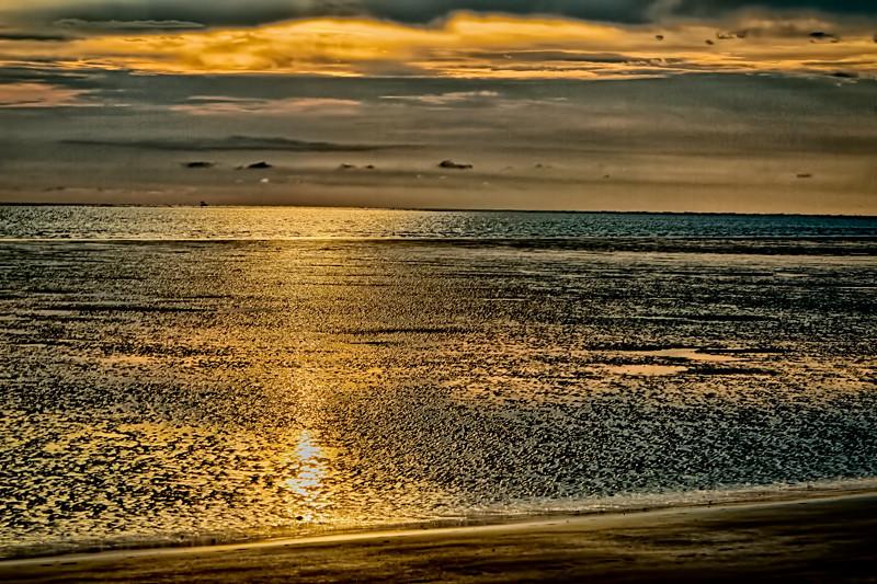 """Shimmering Sunrise""<br /> Harbor Island, SC"