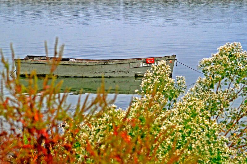 """Oyster Bateau""<br /> Wallace Creek<br /> St. Helena Island, SC"
