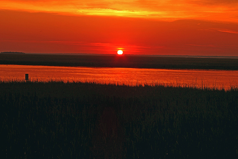 """Lowcountry Sunset""<br /> Hunting Island, SC<br /> This photo was featured as the Hilton Head Island, SC Hargray phone book cover."