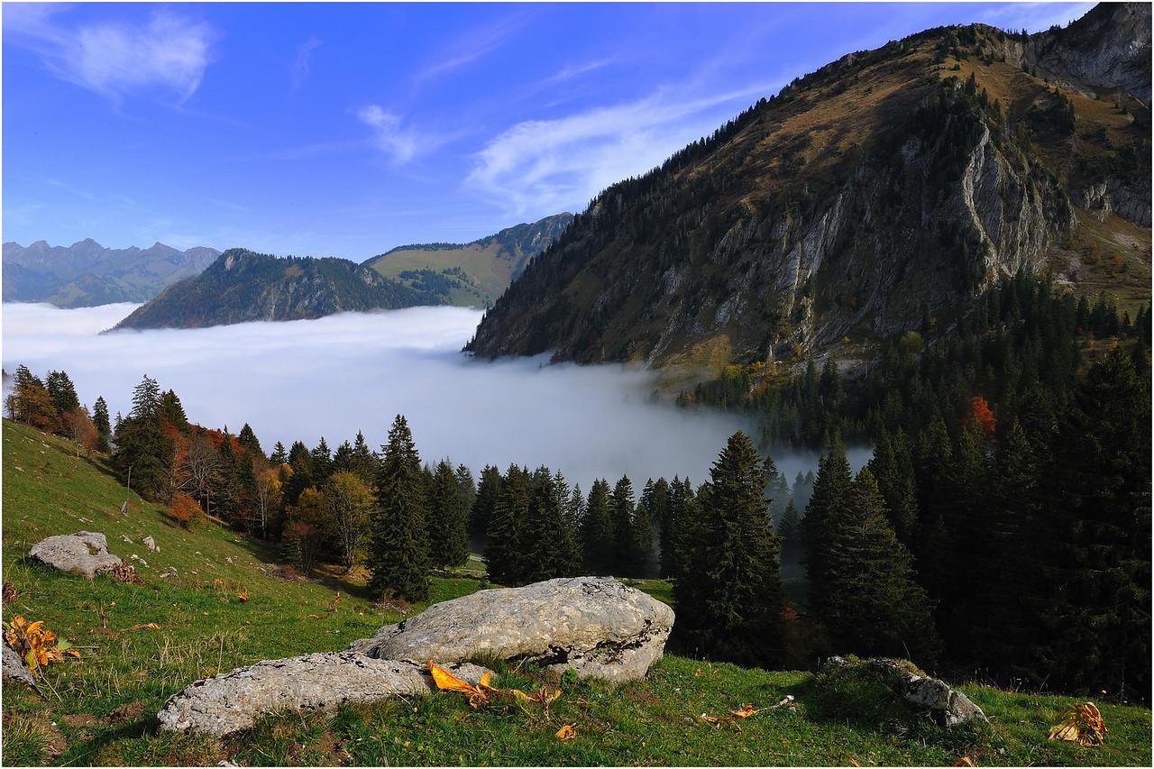 Luci e colori d'autunno, col de jaman