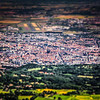 Clermont-Ferrand - Puys de Dôme - France<br /> <br /> Tilt Shift effect (cs5)