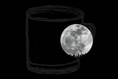 Moonrise over Lone Peak Wilderness #7 - 7Mar12