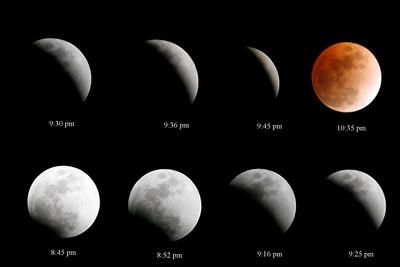 Lunar Eclipse Time Line 2.20.2008