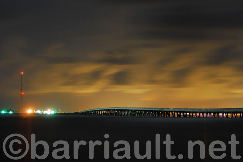 San Luis Pass bridge, Galveston, TX