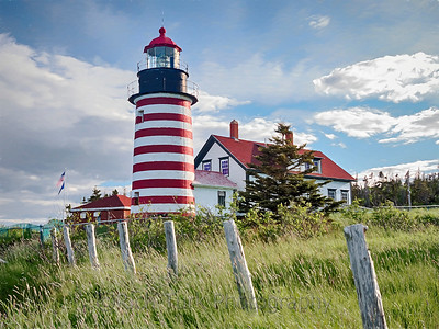 West Quoddy Head Light,  Lubec, Maine