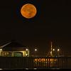 SUPER MOON HUNTINGTON BEACH PIER 11 14 16