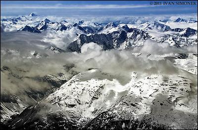 """COASTAL MOUNTAINS 8"",B.C.,Canada."
