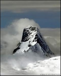 """COASTAL MOUNTAINS 11"",B.C.,Canada."