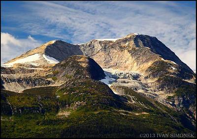 """COASTAL MOUNTAINS 5"",B.C.,Canada."