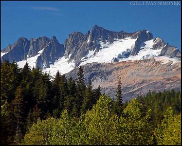 """COASTAL MOUNTAINS 7"",B.C.,Canada."