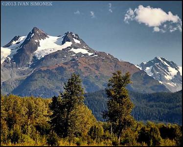 """COASTAL MOUNTAINS 1"",B.C.,Canada."
