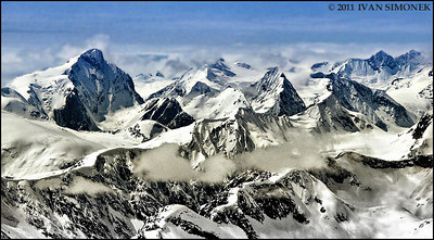 """COASTAL MOUNTAINS 9"",B.C.,Canada."