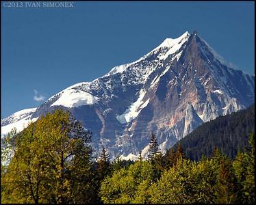 """COASTAL MOUNTAINS 6"",B.C.,Canada."