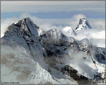 """RUGGED"", Coastal mountains along Stikine river, B.C., Canada / Alaska, USA."