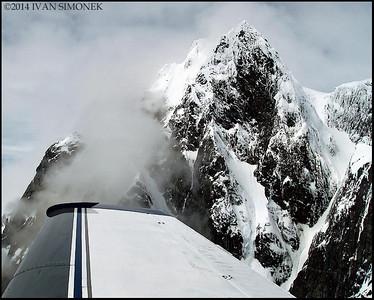 """BELOW PEAKS"",Coastal Mountains,B.C.,Canada."