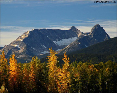 """CANADIAN FALL 2"",British Columbia along Stikine river,Canada."