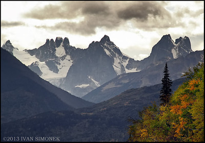 """COASTAL MOUNTAINS 3"",B.C.,Canada."
