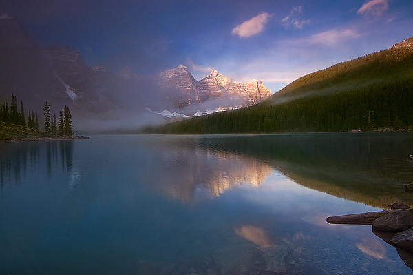 Moraine Lake at Sunrise, AB