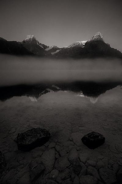 Incandescent III- Waterfowl lake and Mt Cephren, Icefields Parkway, Banff.