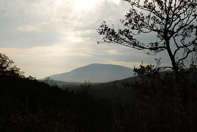 Criffel viewed from Mabie. Oct 2009.