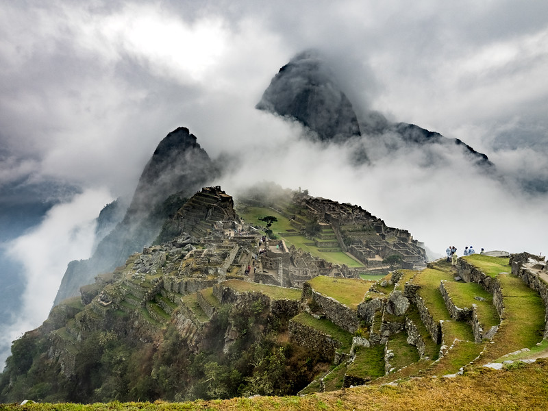 Early morning in Machu Picchu, Peru
