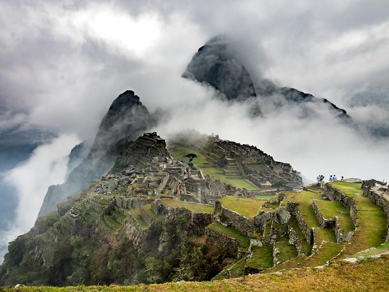 Early morning in Machu Picchu, Peru