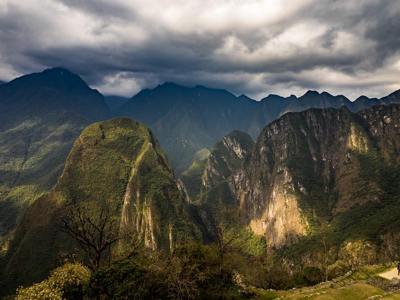 Mountain View. Machu Picchu, Peru