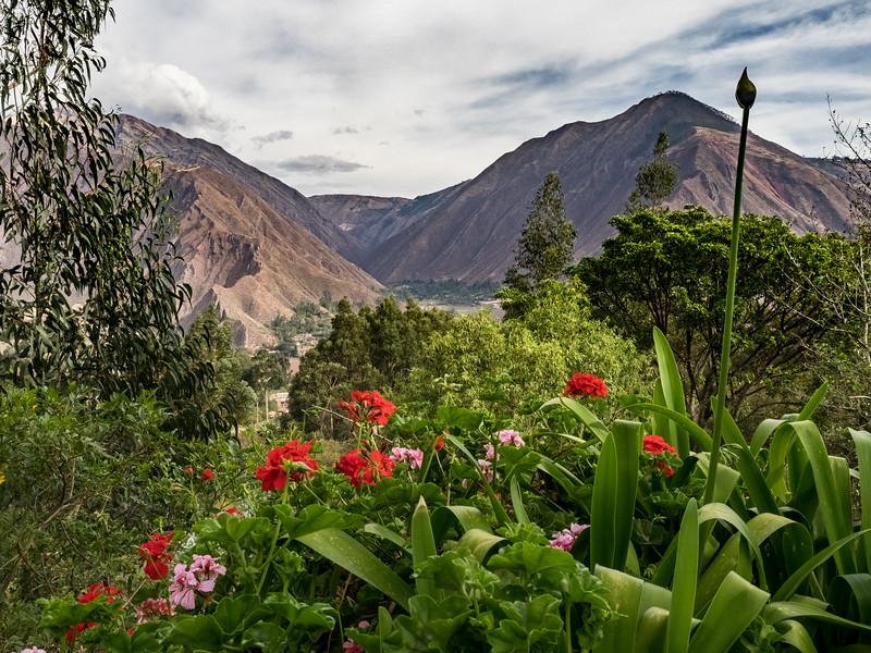 Casa Orihuela high in the Andes, Cusco, Peru