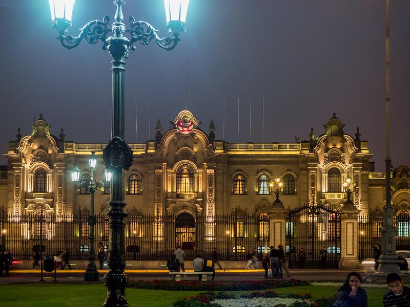Plaza de Armas de Lima.  Lima, Peru