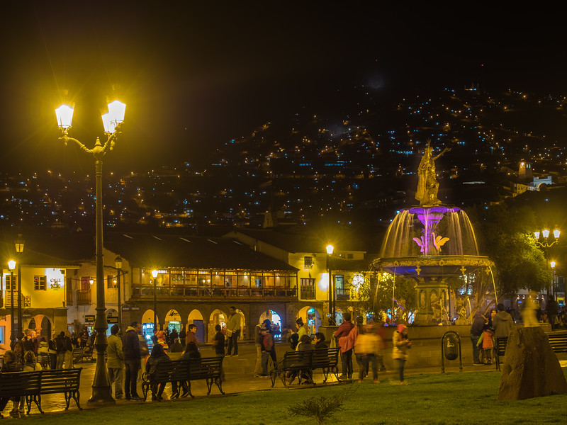 Plaza de Armas town square, Cusco, Peru