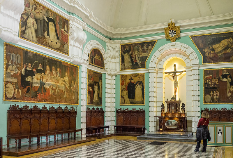 Chapter House in St. Dominic Priory. Lima,Peru
